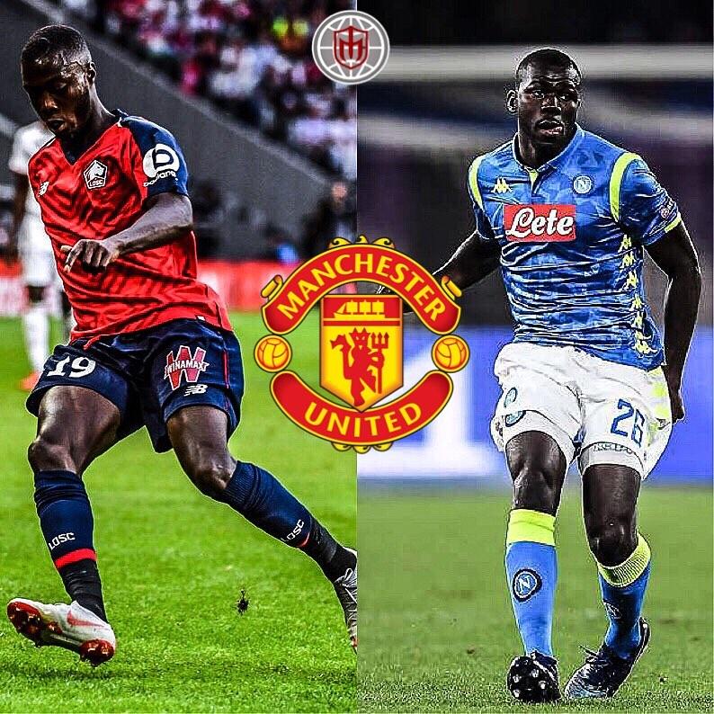 Koulibaly และ Pepe ️แมนเชสเตอร์ยูไนเต็ด – ตามรายงานของแมนฯ ยูไนเต็ด …