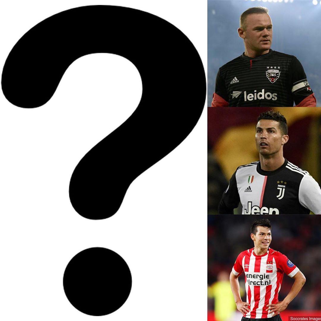 เดาผู้เล่น . . มาตรา 5 . ผู้เล่นนี้เล่นกับ Wayne Rooney, Cristian …