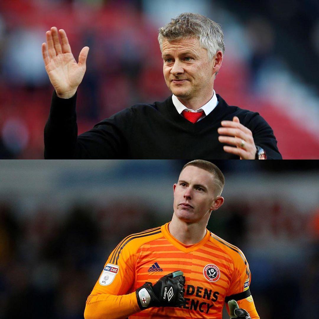 """Ole: """"เขา (Dean Henderson) เห็นได้ชัดว่าได้รับการเลื่อนตำแหน่งกับ Sheffield United และ …"""