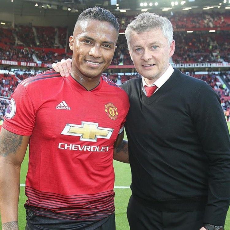 Goodbye @ antoniovalencia2525 ขอให้โชคดีในอนาคต @solskjaerutd #MUFC . …